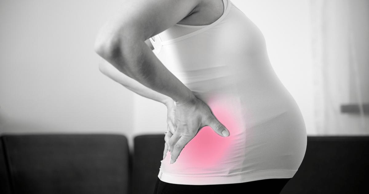 懷孕期間容易腰背疼痛