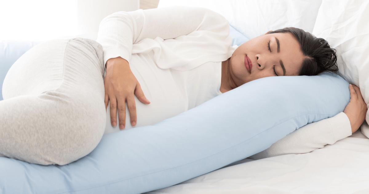 孕期用側臥睡姿比較好入眠