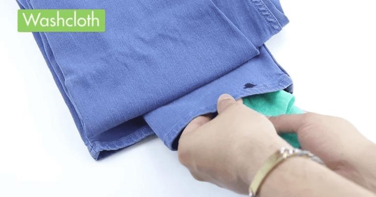 【經期清潔】如何清洗大姨媽殘留在牛仔褲上的血跡?輕鬆幾步就可以做到完整清潔!