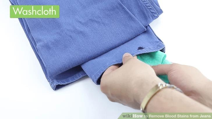 如何清洗牛仔褲的血跡
